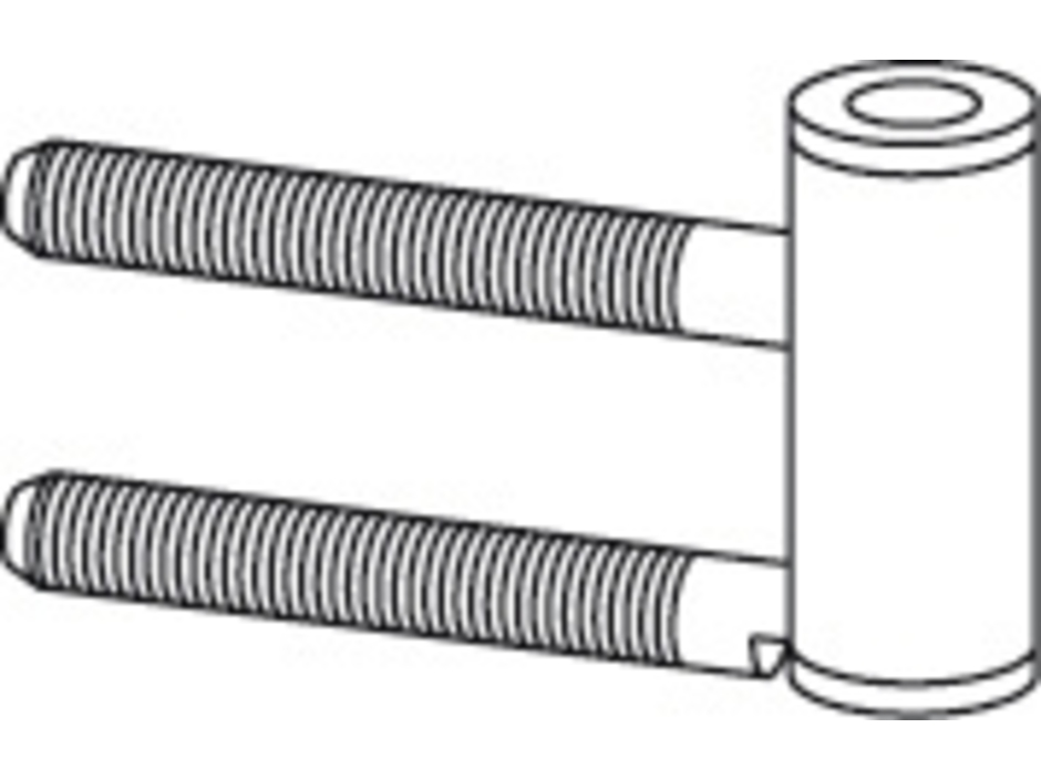 Simons Band-Rahmenteil für Holzzarge V4400 verzinkt inkl